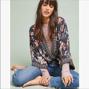 Kachel X Anthropologie Zora Floral Kimono Jacket